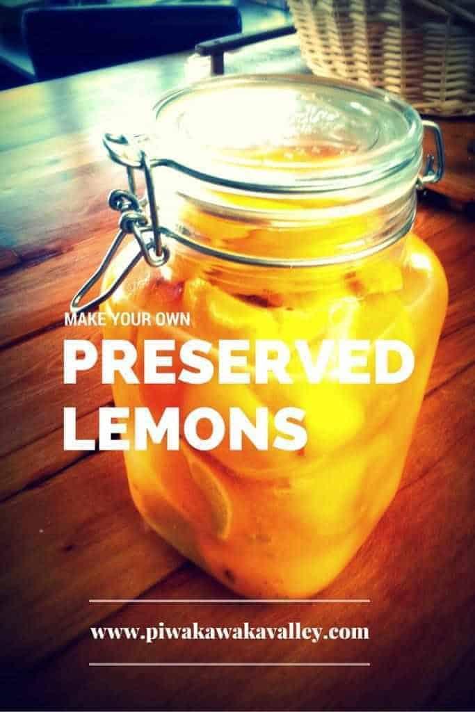 preserving lemons,