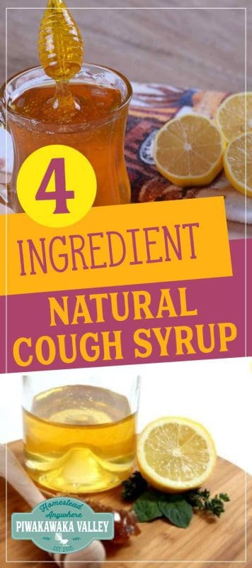 This is a natural cough syrup that works incredibly well. We make it every winter! When coughs and colds come knocking, whip up some of this natural lemon cough syrup, it is simple but effective against coughs