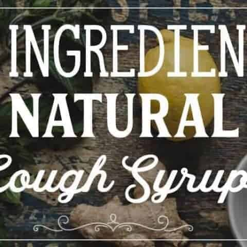 When coughs and colds come knocking, whip up some of this natural lemon cough syrup, it is simple but effective against coughs