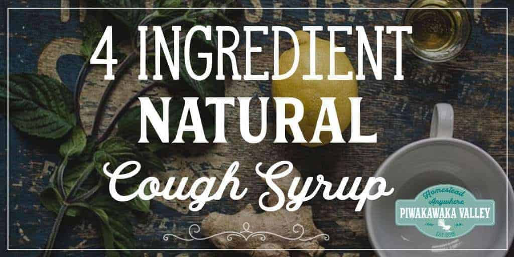 4 Ingredient Effective Natural Homemade Cough Syrup