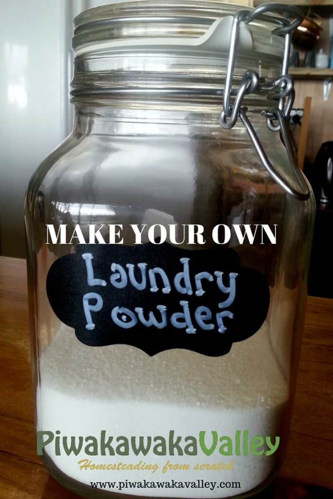 Quick and easy - How to make you own laundry soap. laundry detergent recipe.