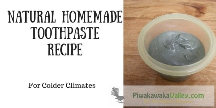 How to make Remineralizing toothpaste for colder climates