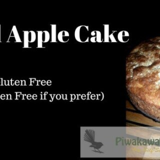 gluten free spiced apple cake