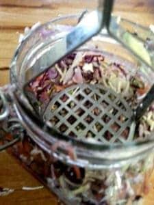 how to use cabbage to make sauerkraut
