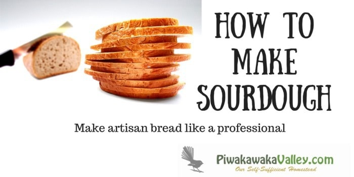 Chewy and slightly tangy, who doesn't like a warm slice of sourdough bread? I bet you didn't realize just how easy it is to make either. Would you like a free copy of our ebook on sourdough?