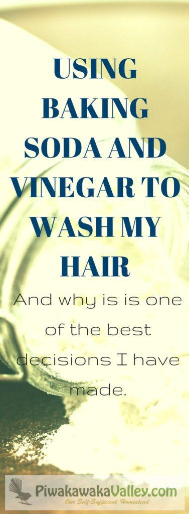 I have not looked back from going no poo - my hair is more shiney, less greasy and less dry on the ends. Washing your hair with baking soda is simple and effective, without shampoo, shampoo alternatives.