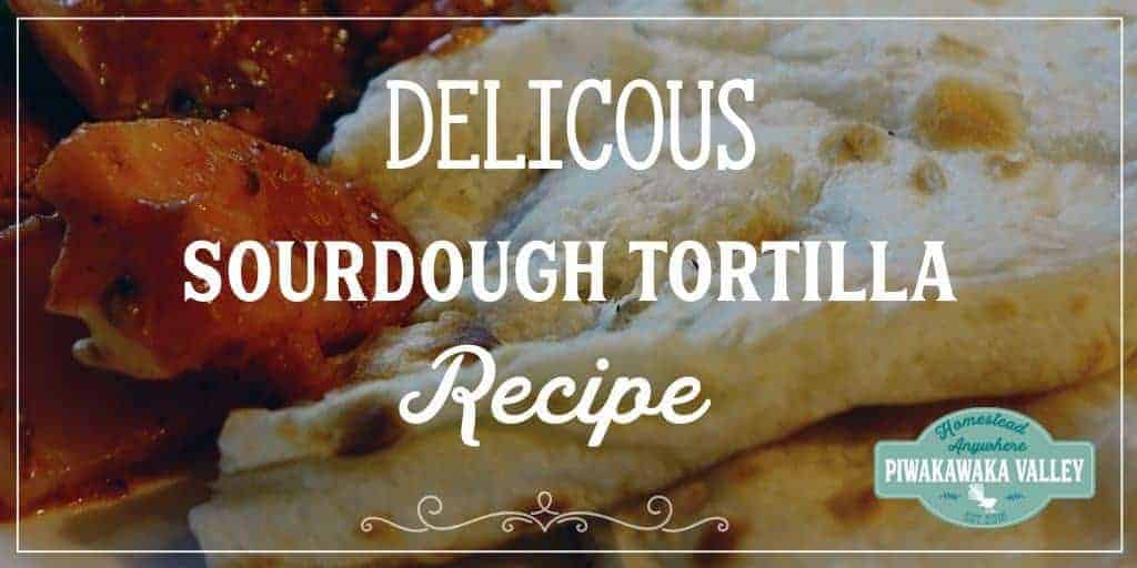 Delicious Sourdough Tortillas – Easy Step by Step Guide.