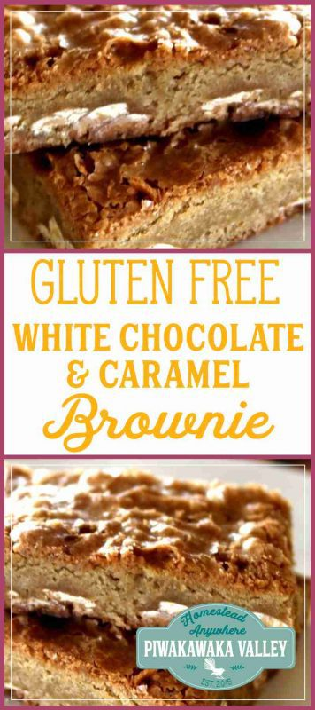 Finding an amazing gluten free brownie is hard enough, let alone a white chocolate and caramel blondie. But I have done it. This recipe is everything you want in a brownie - soft, chewy and delicious! #recipe #glutenfree #caramelandwhitechocolate