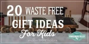 Buying a gift for children can be waste free, plastic free or eco friendly. Here are the top 20 kids gift ideas in a nice big round up just for you. Pin it to save for when you need it!