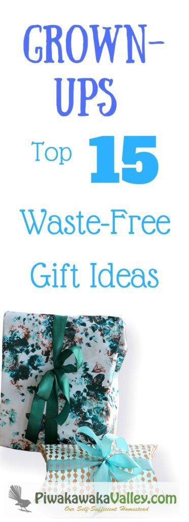 Buying a gift can be easy as well as waste free, plastic free or eco friendly. Here are the top 20 adult gift ideas in a nice big round up just for you. Pin it to save for when you need it!