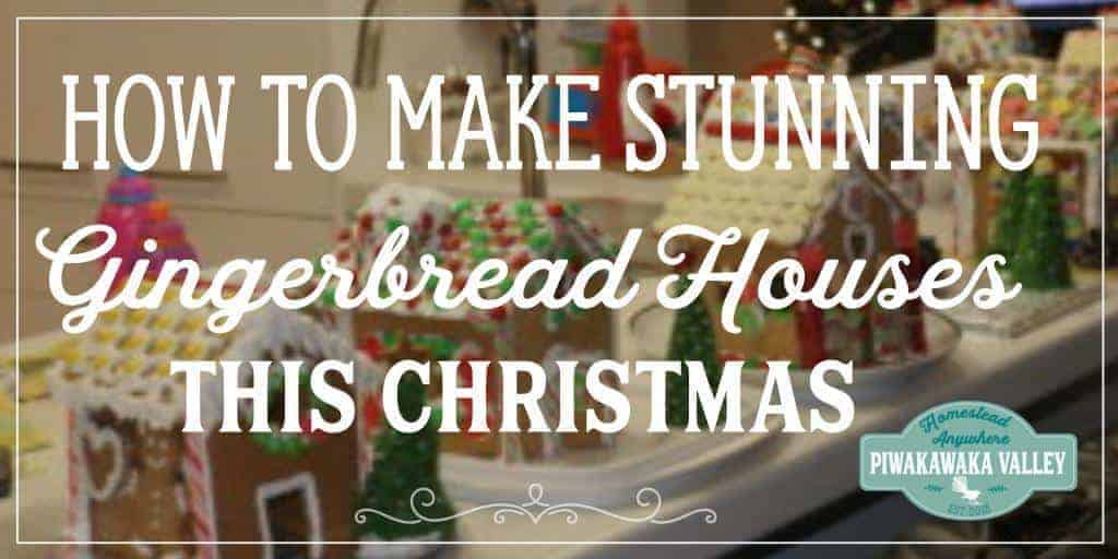 Gingerbread Houses –  A Christmas Tradition For The Whole Family