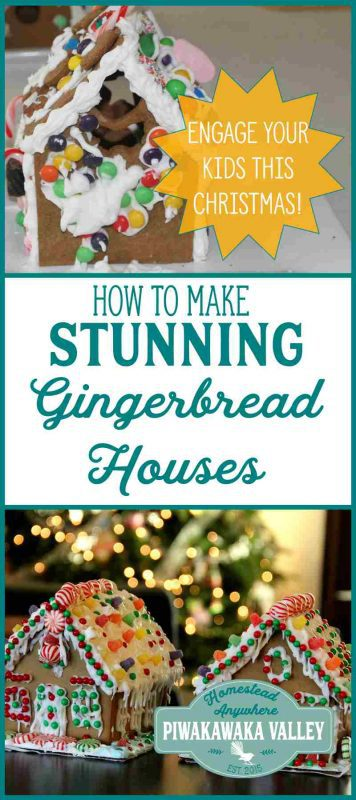 Giant gingerbread house recipe for a very large batch