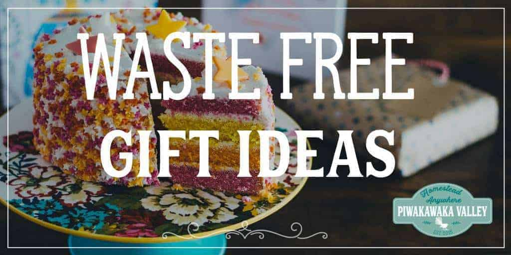 A collection of waste free gift ideas for all ages