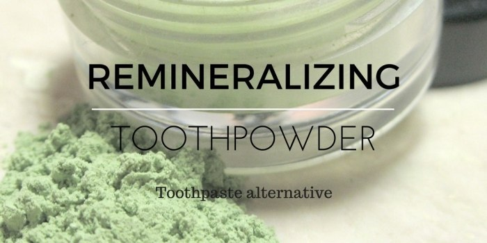 Are you looking for a natural, fluoride free toothpaste that the kids will use? look no further than our remineralizing toothpowder