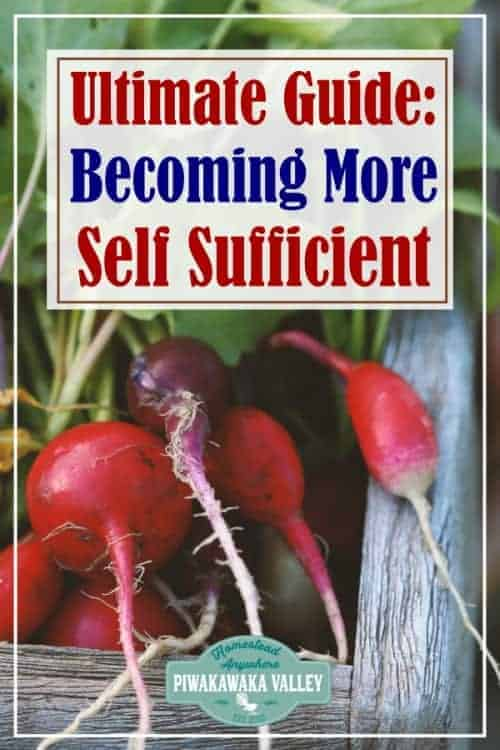 Top 10 self sufficiency tips