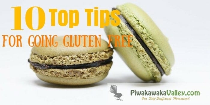 Gluten free baking doesn't need to be daunting! Here are my top 10 tips about going gluten free. If you are new to the gluten free, wheat free lifestyle come and check them out.