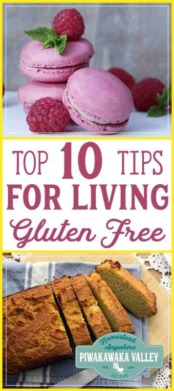 Gluten free baking doesn't need to be daunting! Here are my top 10 tips about going gluten free. If you are new to the gluten free, wheat free lifestyle come and check them out. what to eat when you are gluten free, foods to avoid when gluten free, Gluten free for beginners