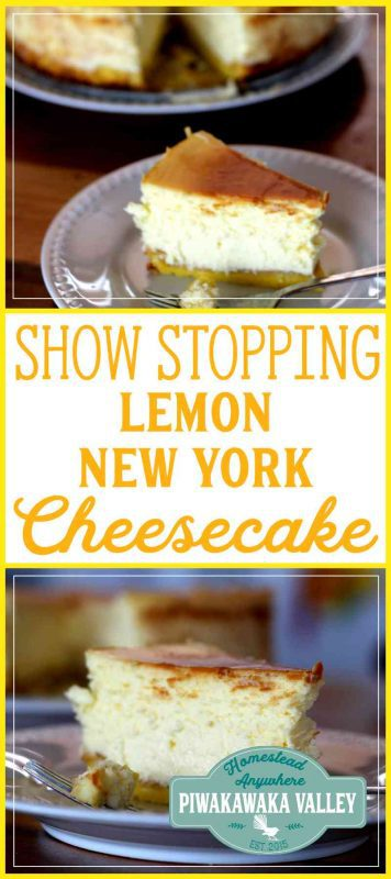 My hands-down favourite dessert is a New York baked cheesecake. A good New York baked cheesecake. Since having had an amazing baked cheesecake at a local restaurant years ago, nothing else ever stacked up. Everything else I tried was an absolute letdown. UNTIL one day I made this: Dana's Gluten Free Lemon New York Style Baked Cheesecake with Sponge Base. My life was complete. #cheesecake #recipe #glutenfree