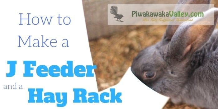 Do you struggle with spilt rabbit and chicken feed? This j feeder and hay rack will sort it for you! making a j feeder is super easy find out how here.