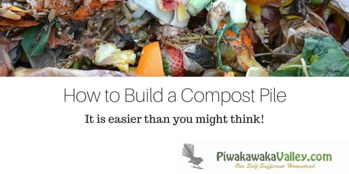 The Easy Guide to Starting a Compost Pile | Composting for Beginners