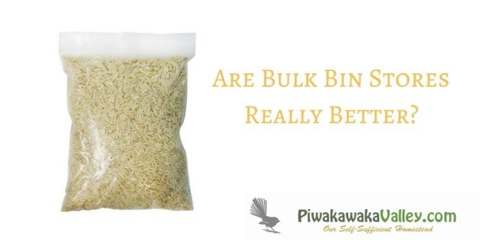 When Plastic Free isn't really Plastic Free – Are Bulk Bin Stores Really Better?
