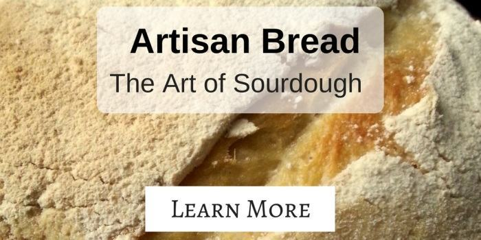 Artisan Bread - The Art of Sourdough: 43 pages of beautifully presented, simple information guiding you through making sourdough from scratch. Learn how to make sourdough artisan bread today