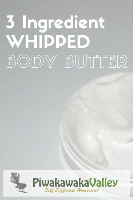 Quick 3 Ingredient Body Butter is AMAZING | DIY whipped body butter recipe
