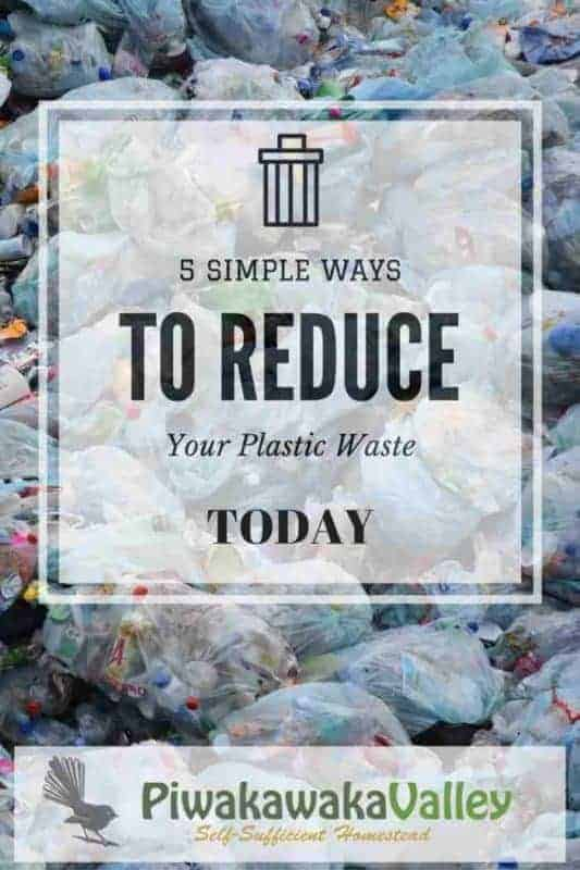 5 simple ways you can reduce your plastic usage, today! Save the planet, stop using plastic.