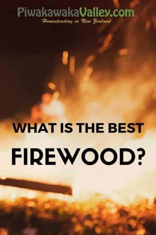 what is the best firewood ? Here is an outline of the types of wood available in NZ