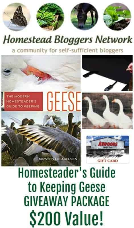 Keeping Geese Prize Package Valued at Over $200!!