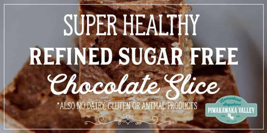 Delicious Chocolate Slice – Dairy Free, Gluten Free, Raw, LCHF, No Refined Sugar, Vegan