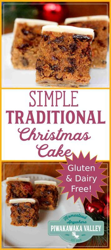 Is someone you know gluten free and or dairy free? Try this Gluten free dairy free christmas fruit cake, it is moist and delicious and super simple and easy to make! #christmascake #fruitcake #recipe #christmas