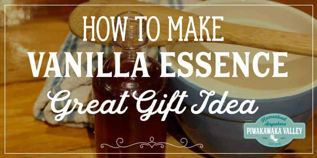 How to Make Vanilla Essence – Super Easy Gift Idea