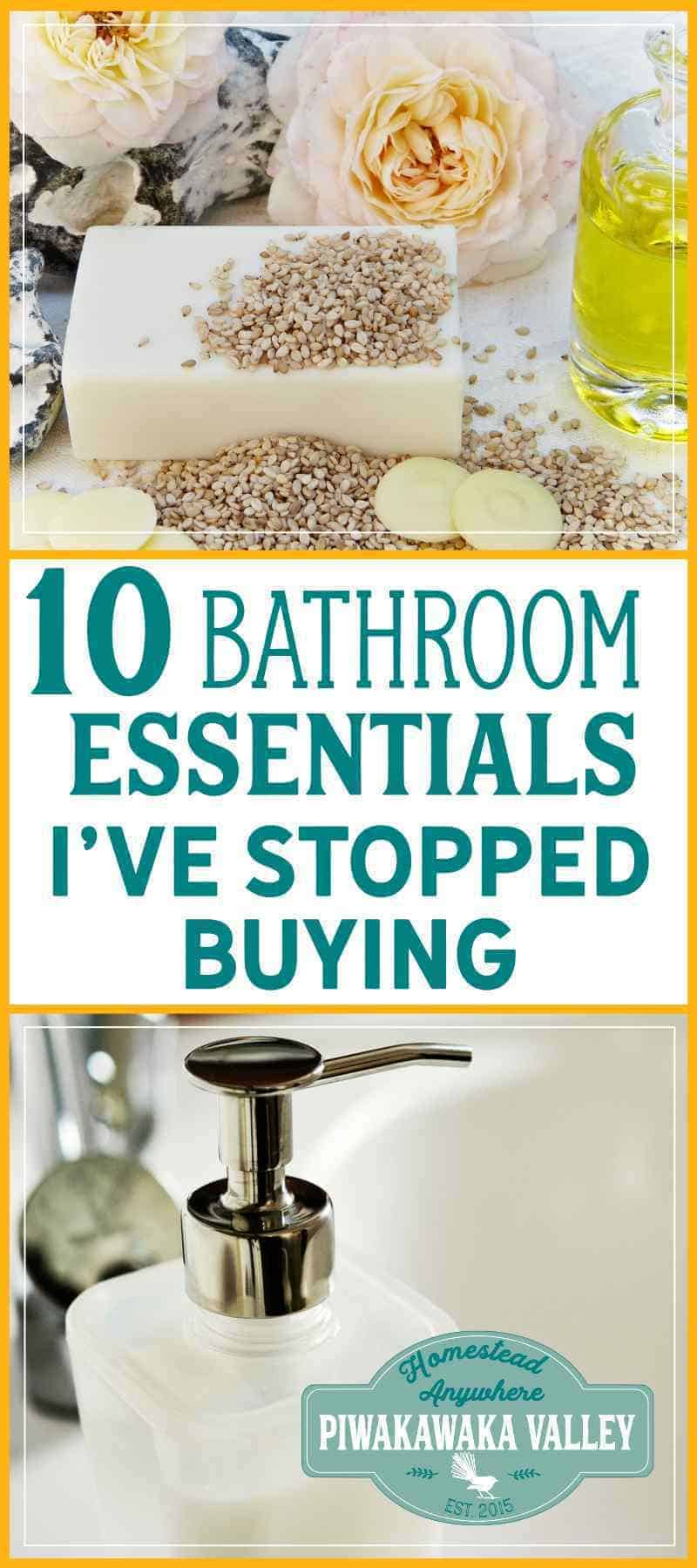 Zero Waste Bathroom -10 Essential Items that I have ...