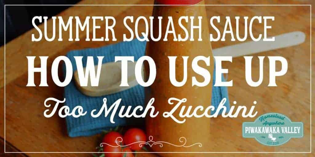 Preserving Summer Squash (Zucchini) and Tomatoes