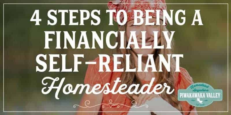 Don't let your financial situation be the only area of your life where you're not self-reliant. Build an emergency fund, pay off your debt, start a business, and stick to your budget to move steadily down the financial independence path.