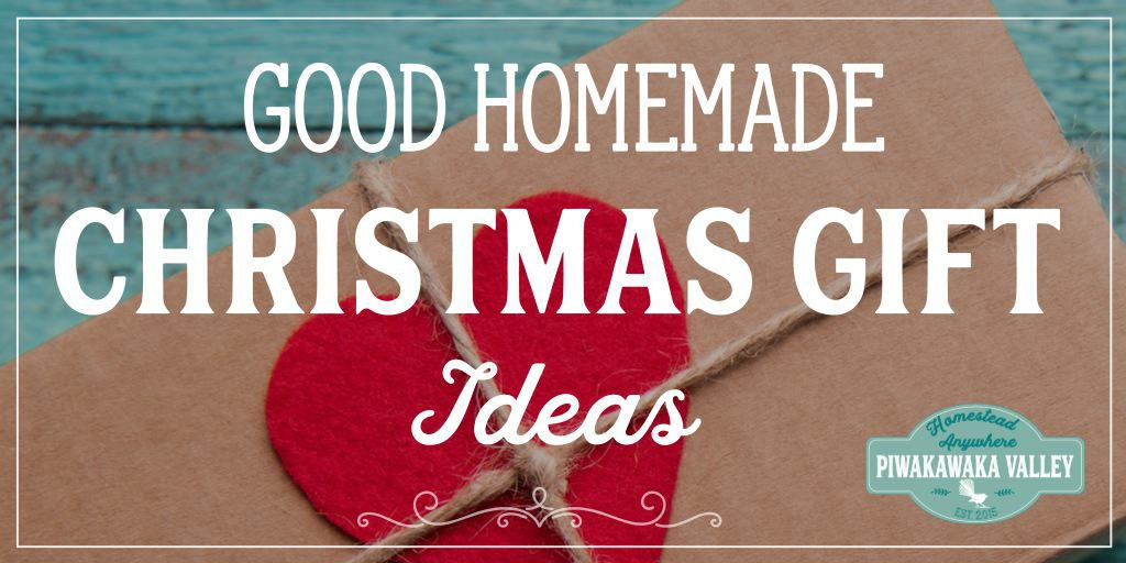 Homemade DIY gift ideas that don't suck. Here are some amazing ideas for Christmas gifts for the people that you love that are frugal, easy and beautiful #chirstmasideas #diychristmas #frugalchristmas #holidays #piwakawakavalley