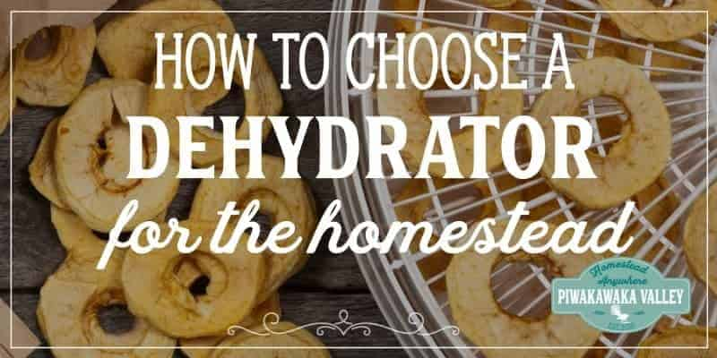 How to choose the best dehydrator for the homestead? Here is our reviews of the 5 best dehydrators for every budget and task. Find out which one will work best for you here. #homesteading #preservingfood #piwakawakavalley