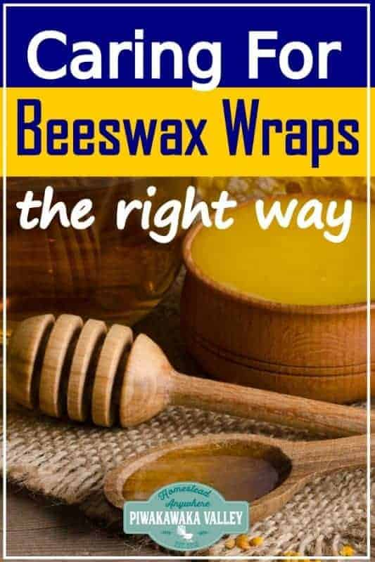Are you using one of these eco friendly alternatives? If you have made DIY beeswax food wraps, or you have some that you have bought, to make them last well, you need to care for the correctly. Here are the care instructions for your bees wax food wrap #piwakawakavalley