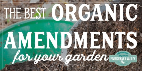 Growing great vegetables and flowers required great soil. Find out which organic amendments are best for your soil here. Make sure you prepare your soil well for planting this spring by using these additions to your garden