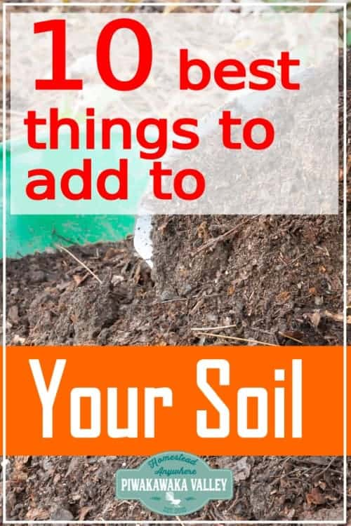 Growing great vegetables and flowers required great soil. Find out which organic amendments are best for your soil here