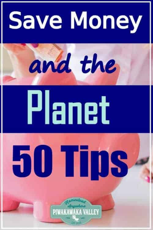 50 ways you can Save Money and the Planet promo image