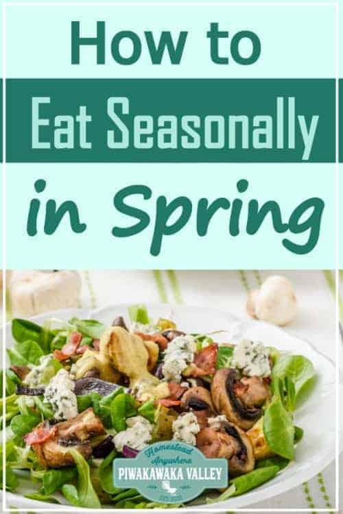Keys to Eating Seasonally in Spring promo image