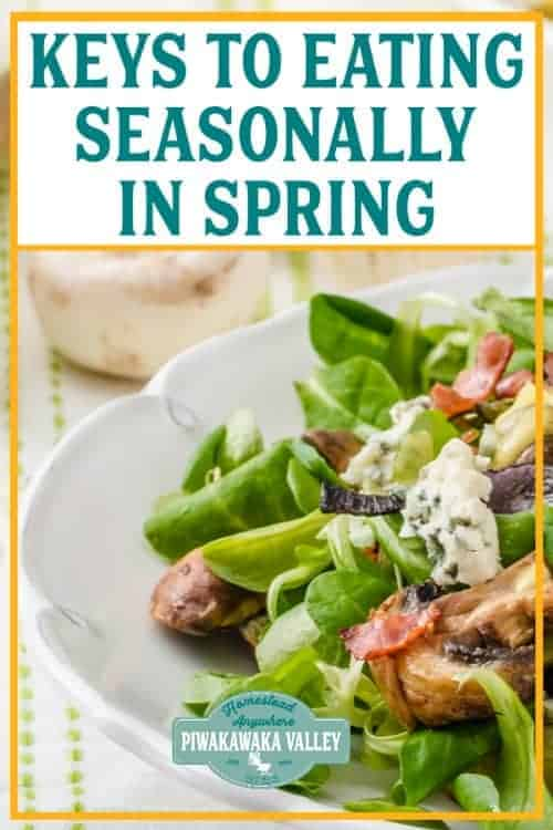 How to eat seasonally in spring