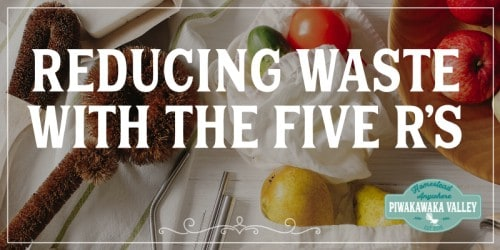 Reducing Waste With The Five Rs promo image