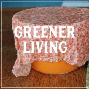 Greener living clickable image