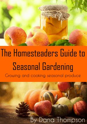 The Homesteaders Guide to Seasonal Gardening eBook promo image
