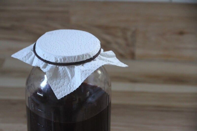 How to Make Blackberry Vinegar from Scratch promo image