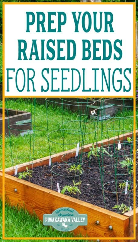 How to prepare a raised garden bed for planting vegetables