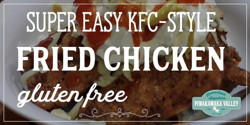 Gluten Free Fried Chicken Recipe promo image